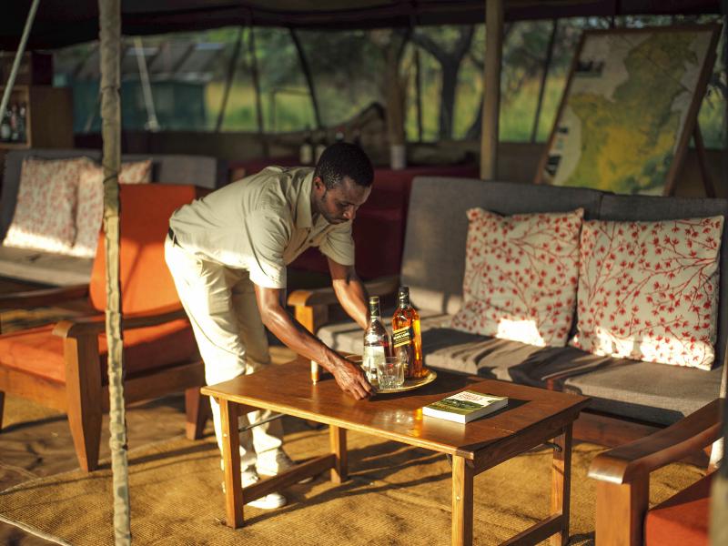 Ndutu Dining Tent
