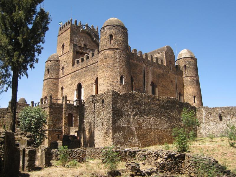 Imperial Castle Gondar Ethiopia