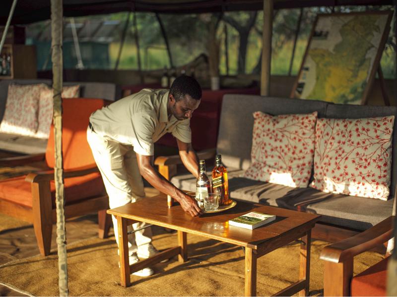 Serengeti Wilderness Camp Drinks
