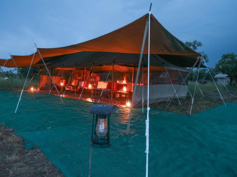 Serengeti North Wilderness Camp Dining Tent