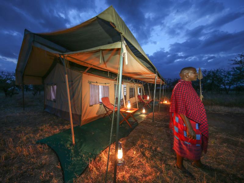 Serengeti Wilderness Camp Tent Outside