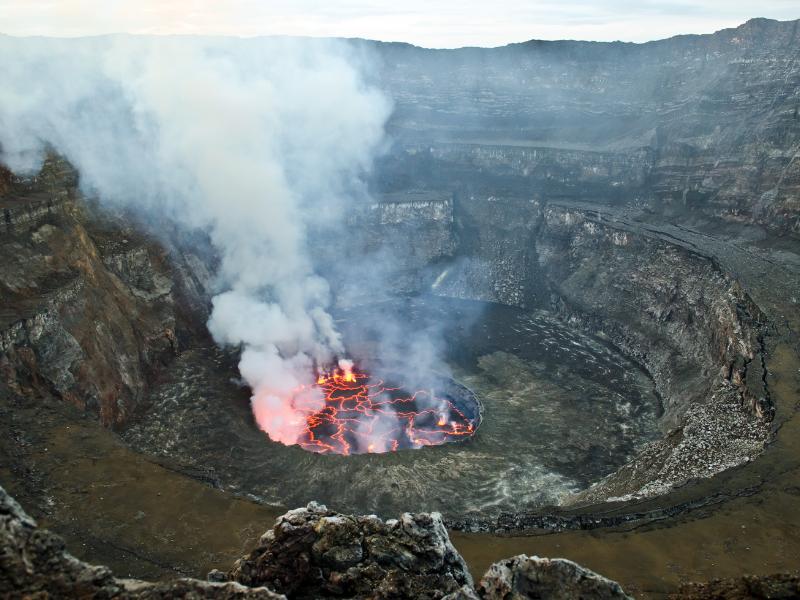 Mount Nyirangongo DRC